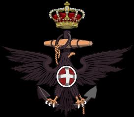 Emblem of the Royal Italian Navy, Regia Marina - Author: F l a n k e r